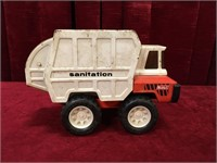 "Vintage Buddy-L 9"" Sanitation Truck"