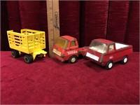 8 Vintage Tonka Toys