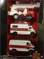 1/64 Fire Department 5-pc Set