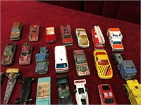 30 Vintage Diecast Vehicles