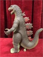 """Vintage 10"""" Electronic Toy Godzilla - Not Tested"""