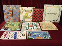 9 Vintage Board Game Boards