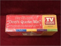 Don't Quote Me Board Game - Sealed