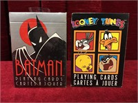 1992 Batman & 1994 Looney Tunes Cards -Both Sealed