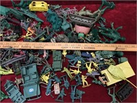 Various Toy Army Figures & Accessories