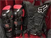 Motocross Protective Gear & Pads w/ Fox Duffel