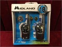 Midland LXT 118 22-Channel Two-Way Radios - NIB