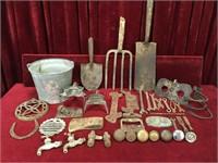 Various Vintage, Old & Rusty Stuff