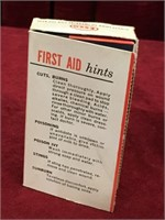 Vintage ESSO First Aid Kit