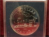 1981 Canada Silver Dollar