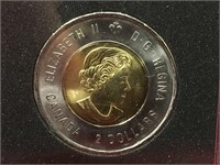 2016 Canada Commemorative Deck Gunner Toonie