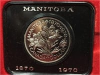 1970 Canada Uncirculated $1 Coin w/ Case