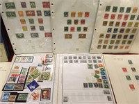 Various Vintage Stamps & Empty Stamp Album