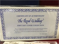 1981 Royal Wedding First Day Cover Collection