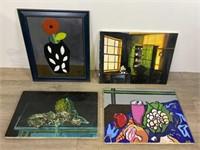 Group of  Modern Oil Paintings