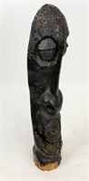 Large African Wood Carving