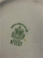 Royal Corona Ware Pitcher & Bowl
