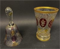 Bohemian Glass with Other Glass Articles