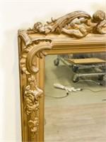 Victorian Gilt & Gesso Mirror