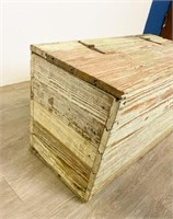 19th Century Paint Decorated Chest
