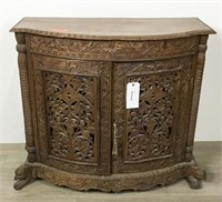 Anglo Indian Carved Server