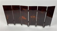Three  Asian Table Screens and Two Panels