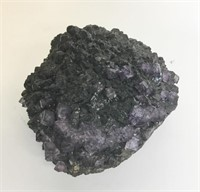 Large Mineral With Amethyst in Matrix