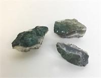 3 Pieces of  Amethyst