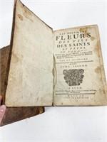 2 Volumes Les Nouvelles Fleurs des Vies des Saints