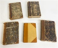 Group of 19th Century Bound Magazines and Books