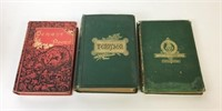 Lot of 11 Antique Books
