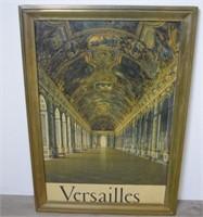 Vintage Travel Poster - Versailles France
