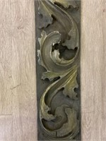 Carved Wooden Architectural Element