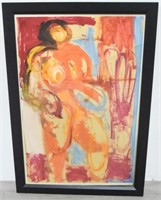 Abstract Nude Female Painting by May Bender
