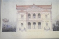 Four  Architectural Prints