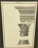 Architectural Engraving & Print