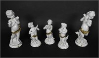 Grouping of Porcelain Cherubs