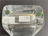 Orrefors Glass Vase and Edenfalk Glass Vase