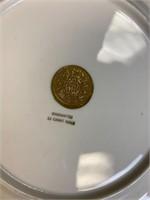 Angelica Kauffman Porcelain Royal China Plates