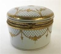 2 Porcelain Dresser Boxes