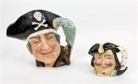 Two Royal Doulton Character Jugs