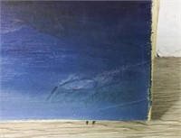 2 Unsigned Oils on Canvas
