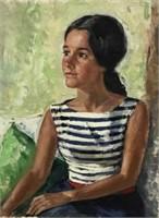 Peter Cook Oil Portrait
