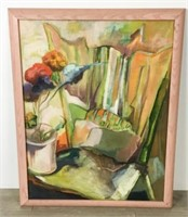 2 Oil on Canvas Still Lifes