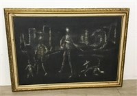 2 Modern Italian Oil Paintings