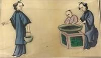 Chinese Painting on Vellum