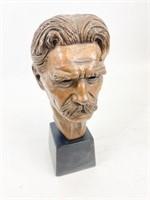 Bust of Albert Schweitzer by Leo Cherne