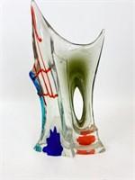 Modern Murano Style Art Glass Sculpture
