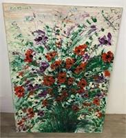 Signed Ann Mittleman Oil on Canvas