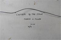 Charles Eldon Monro Acrylic on Masonite